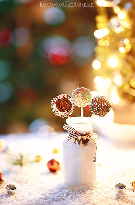 weihnachtliche cake pops rezept mit bild von foodloving. Black Bedroom Furniture Sets. Home Design Ideas