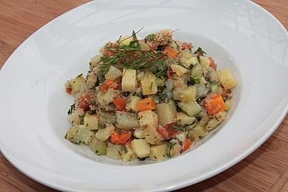 Herbstlicher Gemüseeintopf mit Amarant