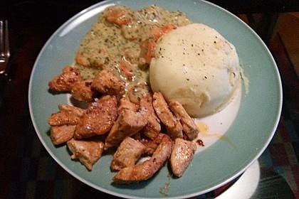 Knusprige Hähnchenbrust mit Möhrengemüse 11