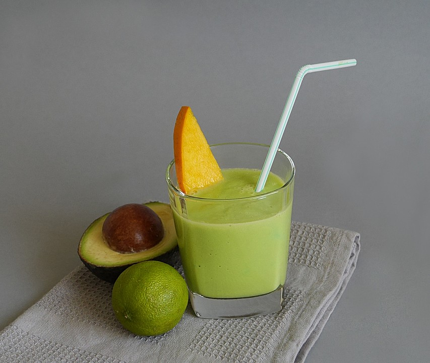 avocado mango smoothie rezept mit bild von pflaumine. Black Bedroom Furniture Sets. Home Design Ideas