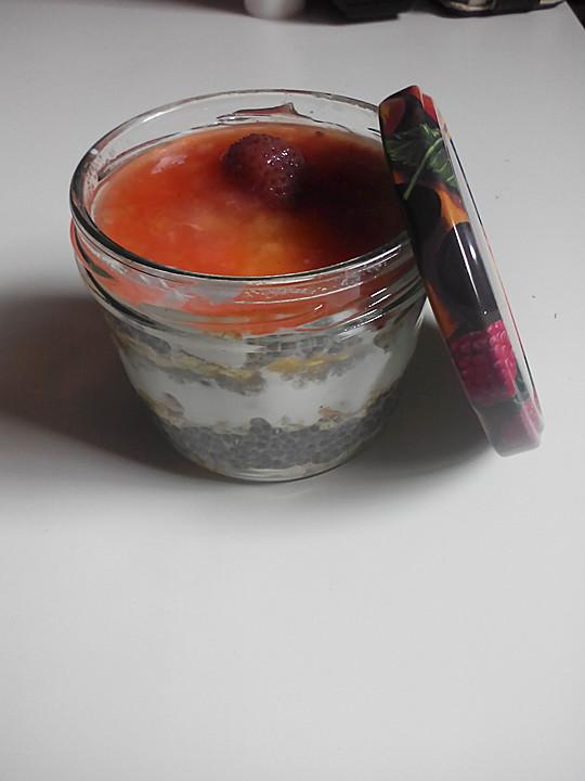 Chia samen mit joghurt