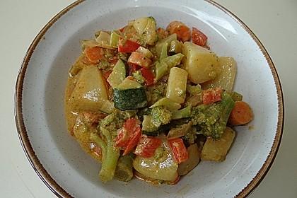 Curry-Gemüsepfanne 1