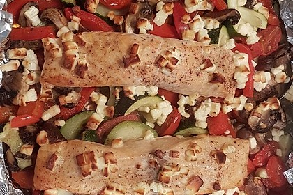 Low Carb Lachs mit Ofengemüse 32