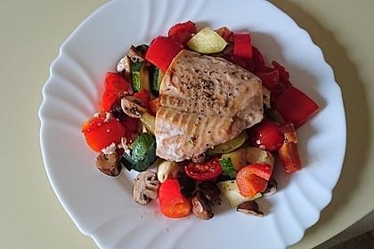 Low Carb Lachs mit Ofengemüse 27