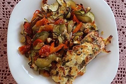 Low Carb Lachs mit Ofengemüse 73