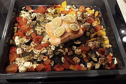 Low Carb Lachs mit Ofengemüse 36