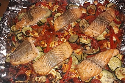 Low Carb Lachs mit Ofengemüse 19