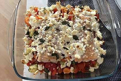 Low Carb Lachs mit Ofengemüse 107