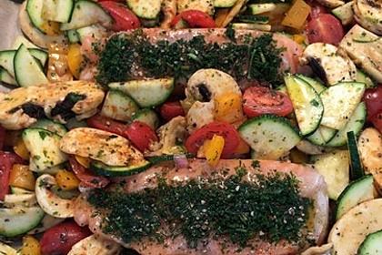 Low Carb Lachs mit Ofengemüse 55