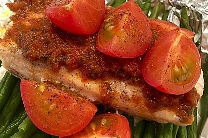Low Carb Lachs mit Ofengemüse 30