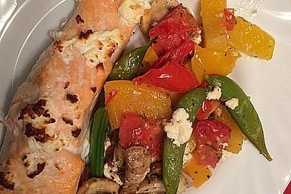 Low Carb Lachs mit Ofengemüse 24