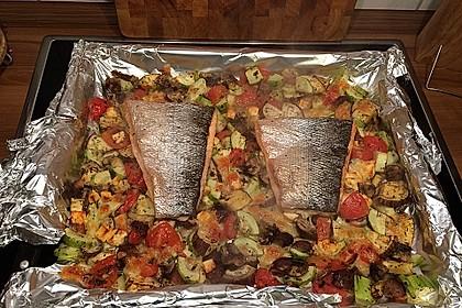 Low Carb Lachs mit Ofengemüse 43
