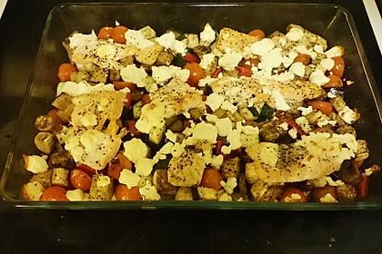 Low Carb Lachs mit Ofengemüse 79
