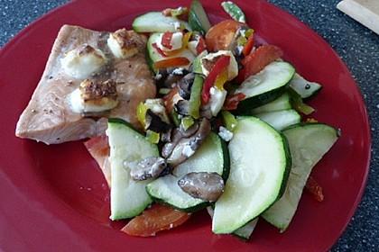 Low Carb Lachs mit Ofengemüse 138