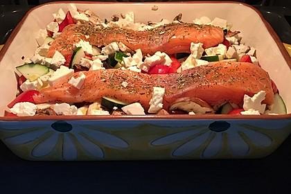 Low Carb Lachs mit Ofengemüse 20