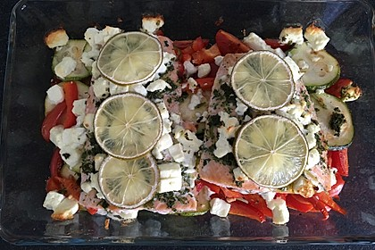 Low Carb Lachs mit Ofengemüse 103