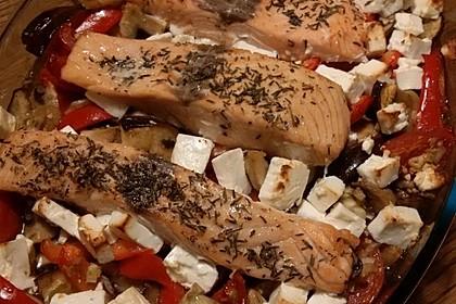 Low Carb Lachs mit Ofengemüse 139