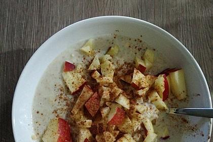 Bananen-Apfel-Zimt-Porridge 7