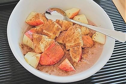 Bananen-Apfel-Zimt-Porridge 12