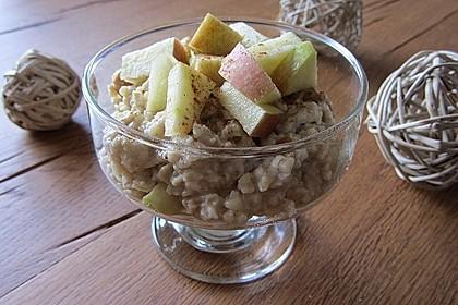 Bananen-Apfel-Zimt-Porridge 1