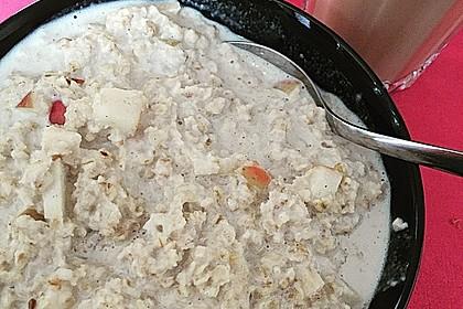 Bananen-Apfel-Zimt-Porridge 9