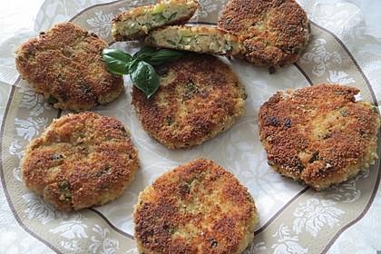 Zucchini-Ricotta-Frikadellen