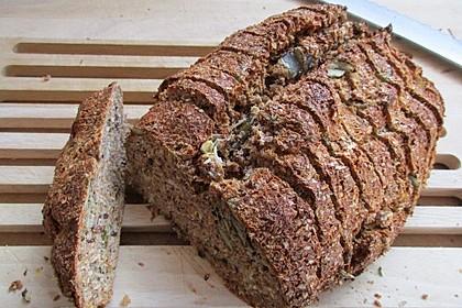 Low-Carb Brot mit Sonnenblumenkernen 15