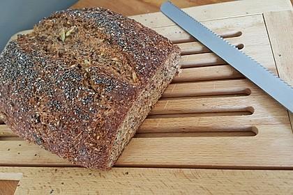 Low-Carb Brot mit Sonnenblumenkernen 51