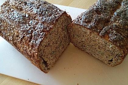 Low-Carb Brot mit Sonnenblumenkernen 72
