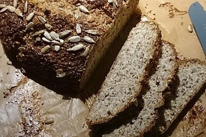 Low-Carb Brot mit Sonnenblumenkernen 73