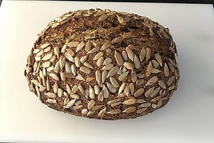 Low-Carb Brot mit Sonnenblumenkernen 75