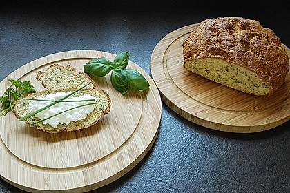 Low-Carb Brot mit Sonnenblumenkernen 1