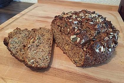Low-Carb Brot mit Sonnenblumenkernen 25
