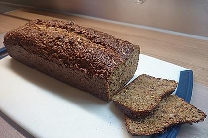 Low-Carb Brot mit Sonnenblumenkernen 48
