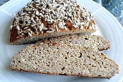Low-Carb Brot mit Sonnenblumenkernen 34