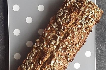 Low-Carb Brot mit Sonnenblumenkernen 20