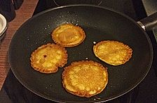 Pancakes mit Polenta