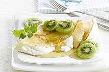 Kiwi-Pfannkuchen
