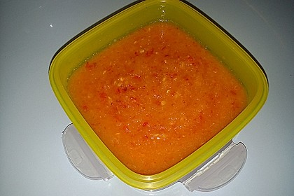 Ananas-Chili-Sauce