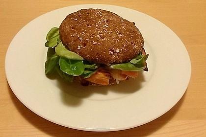 Vegetarischer Kürbis-Burger 6