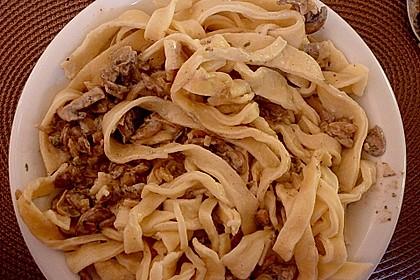 Spaghetti mit Pilz - Bolognese