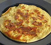 Schnelle Apfel - Pfannkuchen (Bild)