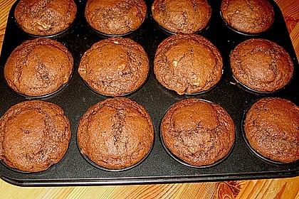 Bananen Nutella Muffins 24