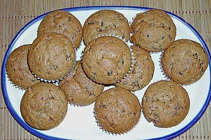 Bananen Nutella Muffins 20
