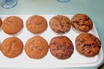 Bananen Nutella Muffins 81