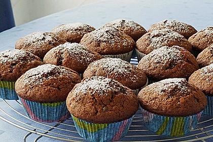 Bananen Nutella Muffins 14
