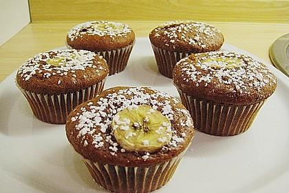 Bananen Nutella Muffins 11
