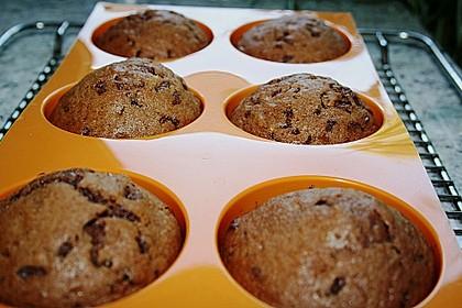 Bananen Nutella Muffins 36