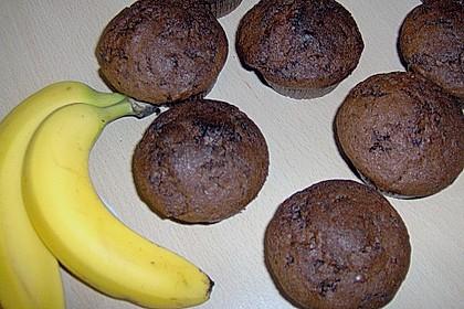 Bananen Nutella Muffins 60
