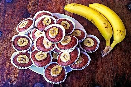 Bananen Nutella Muffins 4